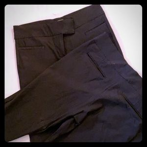 2 Pairs of The Limited Skinny Black Dress Pants